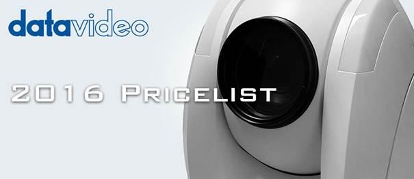 pricelist 2016