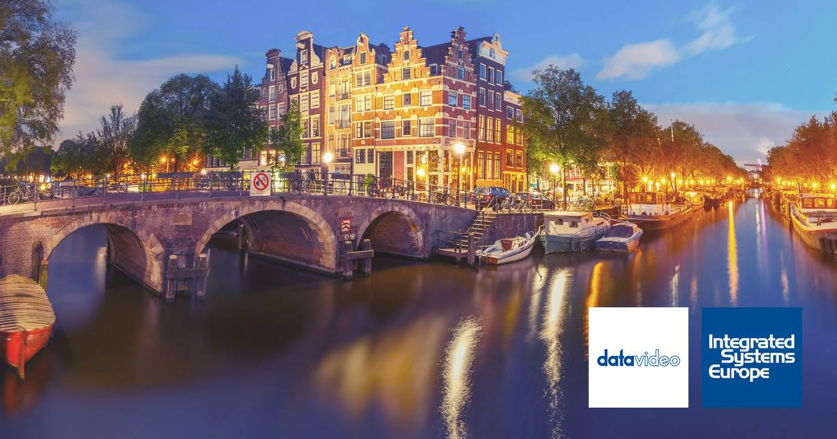datavideo salon ISE d'Amsterdam